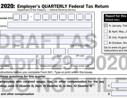 IRS is Revising Form 941