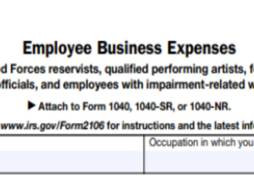Who Qualifies For The Employee Business Expense Deduction